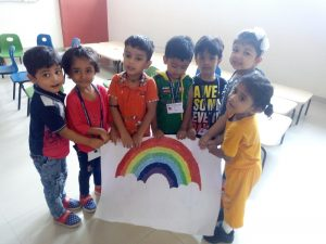 Rainbow Day - Pre-Primary Section