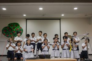 Sr.KG Parents Day - Pre Primary Section