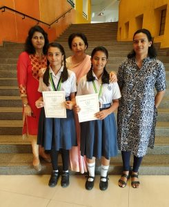 Inter School Poster Competition winners