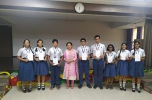 Winners of Monologue Competition