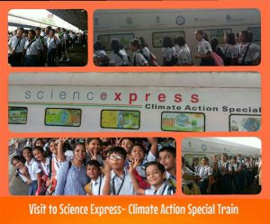 Visit to Science Express-Climate Action Special Train