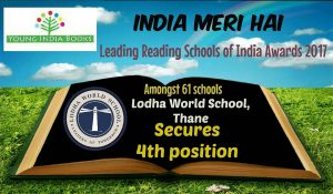 Leading Reading Schools  of India Awards by 'Young India Books'