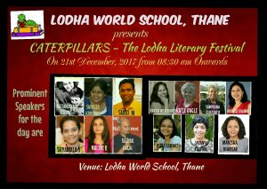 Meet these Prominent Author's and Resource persons at Catterpillars - The Lodha Literary Festival