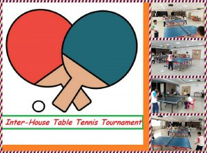 Inter-House Table Tennis Tournament