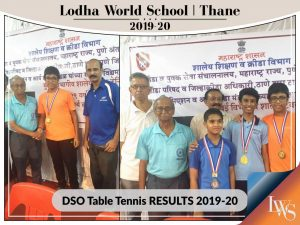 DSO Table Tennis RESULTS 2019-20