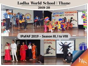 The Inter-house Performing and Fine Arts Festival 2019 – Season III Classes I to VIII